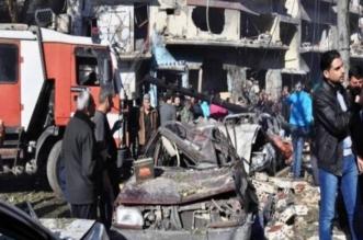 تفجير حمص