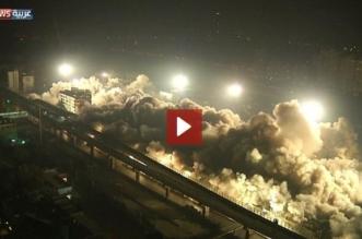 بالفيديو.. لحظة تفجير حي صيني في 10 ثوانٍ - المواطن