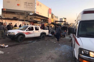 قتلى وجرحى في تفجير انتحاري بساحة الطيران وسط بغداد - المواطن