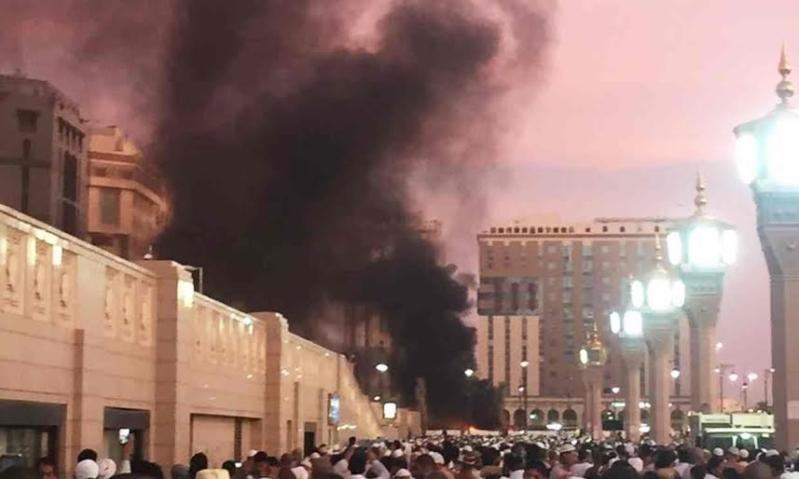 تفجير مسجد المدينة