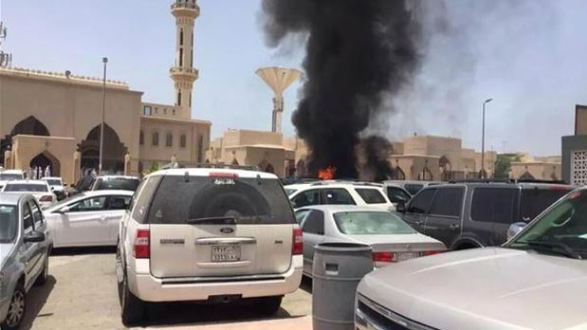 تفجير مسجد بالسعودية