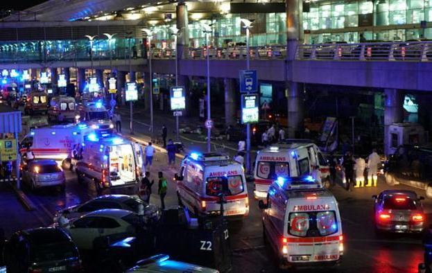 تفجير مطار أتاتورك