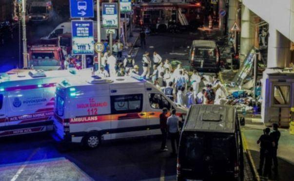 تفجير مطار اتاتورك بتركيا اسطنبول