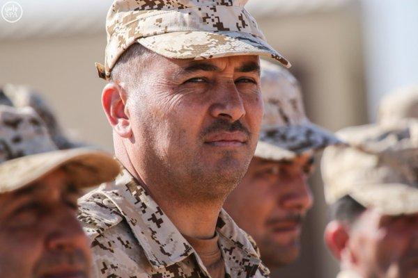 تفقد قائد المنطقة الشمالية للقوات الواصلة المشاركة في مناورات رعد الشمال1