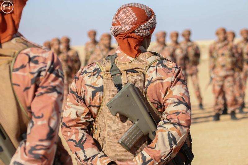 تفقد قائد المنطقة الشمالية للقوات الواصلة المشاركة في مناورات رعد الشمال4