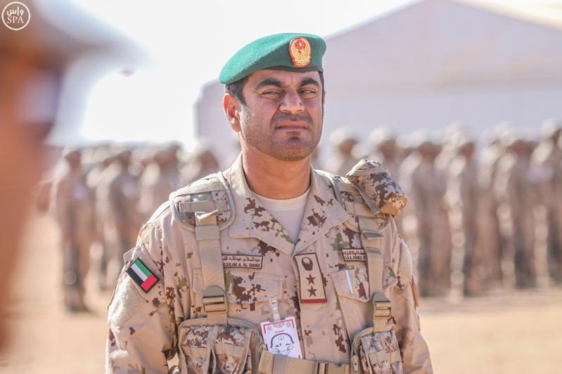 تفقد قائد المنطقة الشمالية للقوات الواصلة المشاركة في مناورات رعد الشمال7