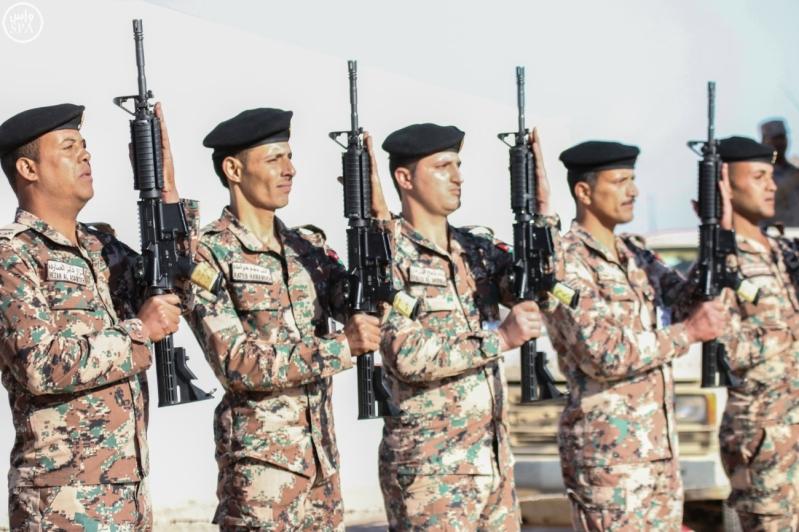 تفقد قائد المنطقة الشمالية للقوات الواصلة المشاركة في مناورات رعد الشمال8