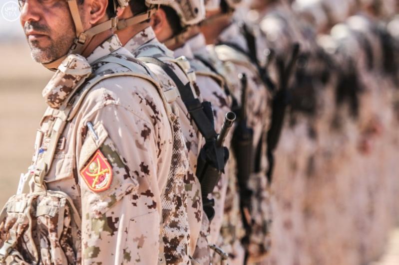 تفقد قائد المنطقة الشمالية للقوات الواصلة المشاركة في مناورات رعد الشمال9