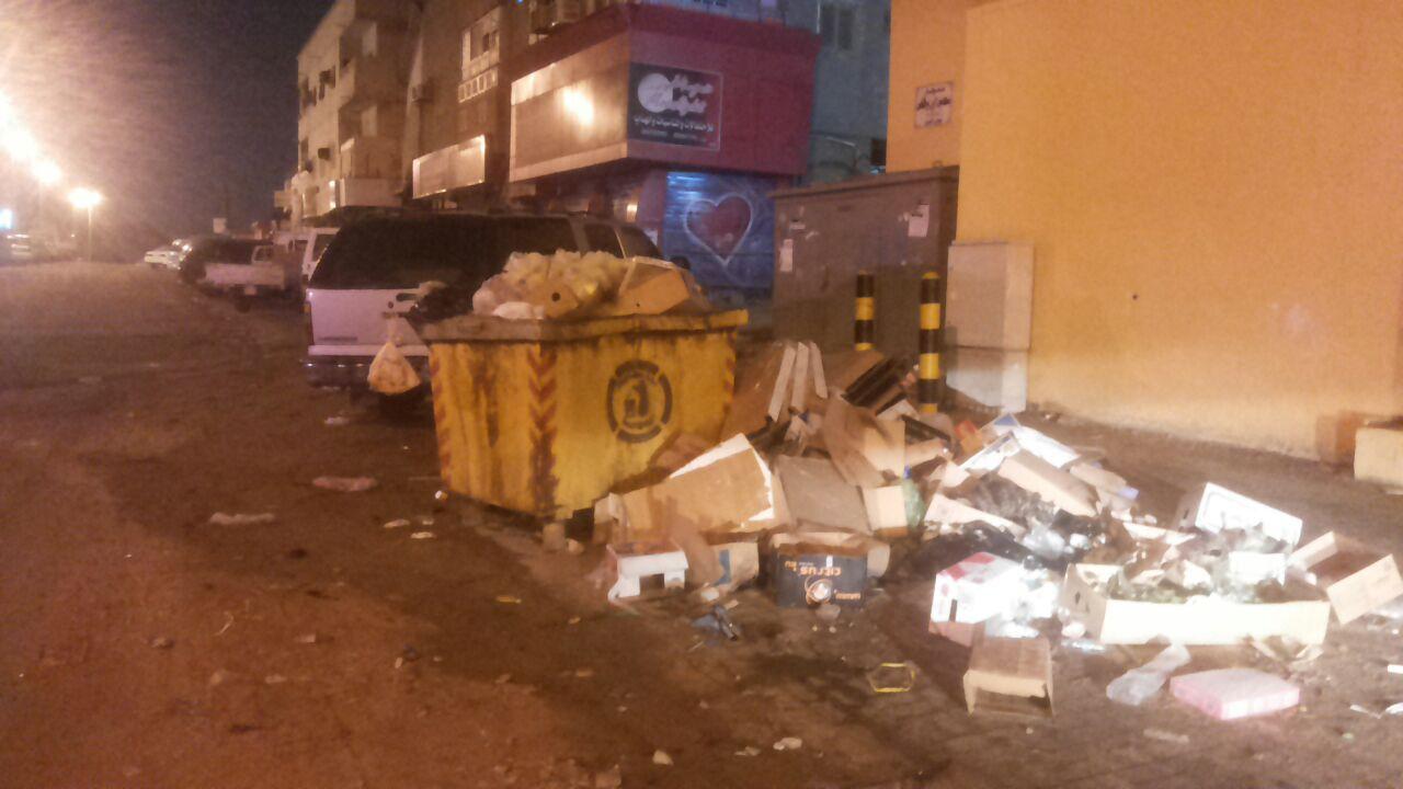 تكدس-النفايات-بمطار-جازان-واحياء-الجبل (10)