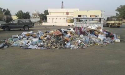 تكدُّس النفايات