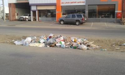 تكدُّس النفايات11