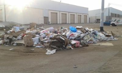 تكدُّس النفايات4