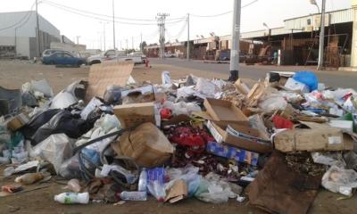 تكدُّس النفايات6