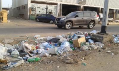 تكدُّس النفايات7