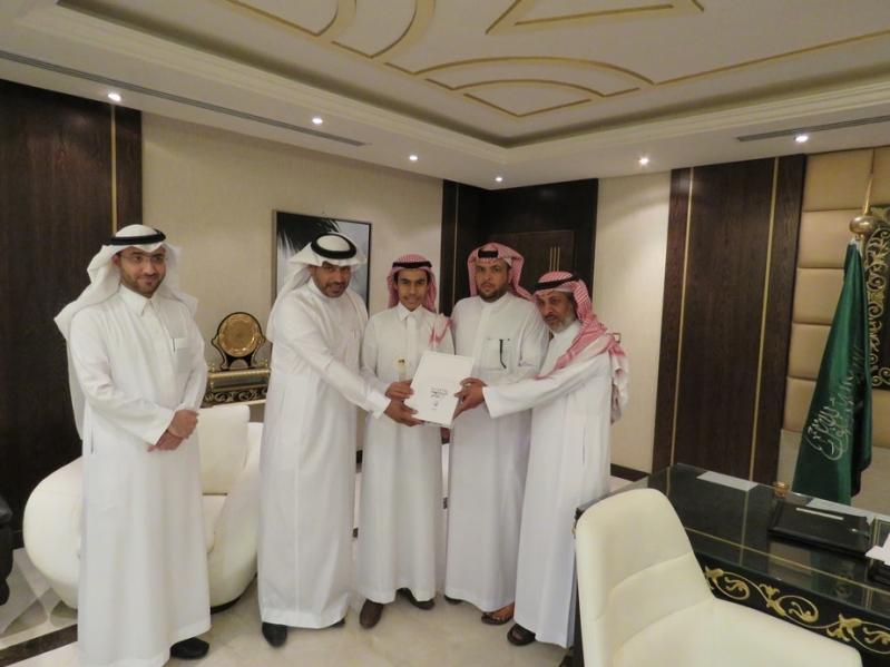 تكريم الطلاب الفائزين في الاولمبياد الوطني للإبداع بـالرياض (1)