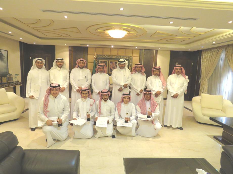 تكريم الطلاب الفائزين في الاولمبياد الوطني للإبداع بـالرياض (2)