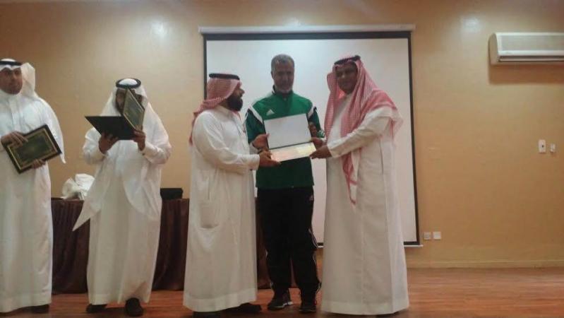 تكريم الفائزين بأولمبياد العلوم والرياضيات4
