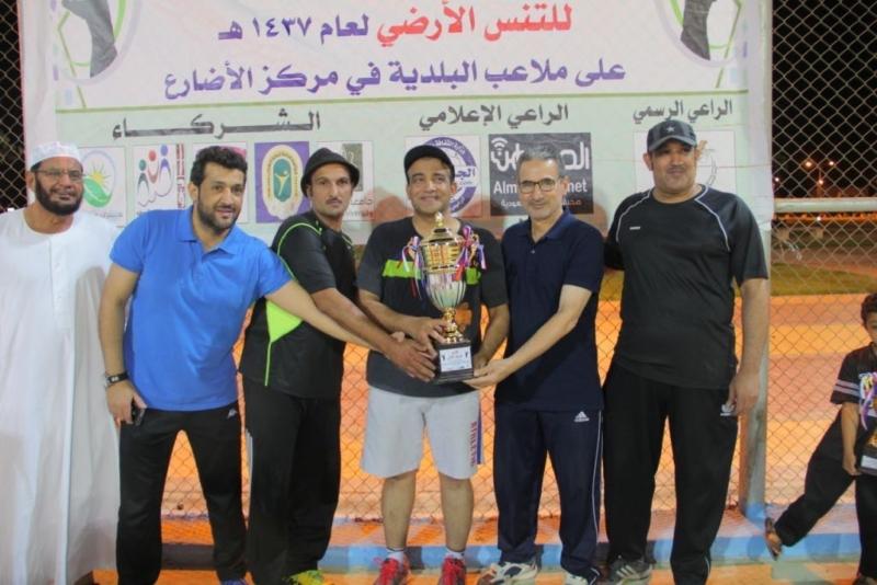 تكريم   المواطن  لرعايتها بطولة التنس الأرضي في الجوف (273536176) 