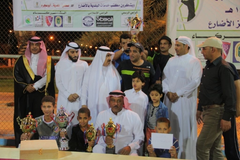 تكريم   المواطن  لرعايتها بطولة التنس الأرضي في الجوف (273536183) 