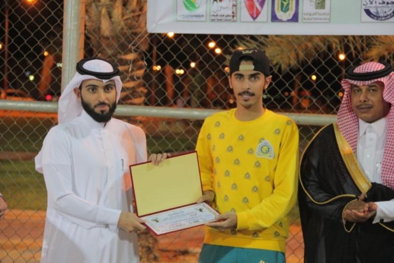 تكريم   المواطن  لرعايتها بطولة التنس الأرضي في الجوف (273536184) 