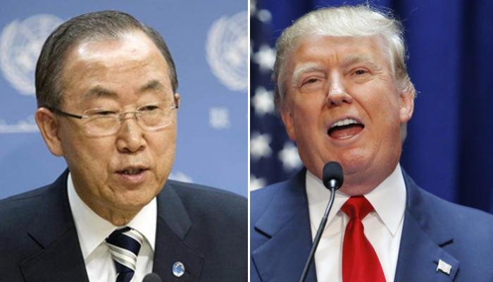ترامب وبان كي مون .. لقاء مرتقب بين الماضي والحاضر