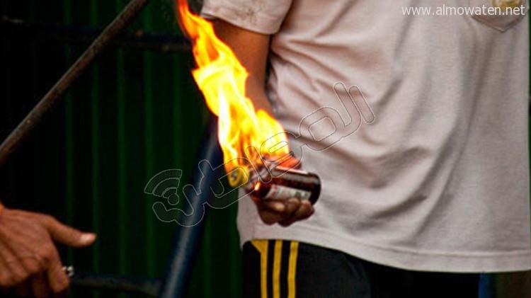 تلميذ يحرق مدرسته