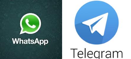 تليجرام و واتساب