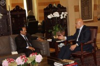 تمام سلام يناقش مع السفير عسيري أوضاع #لبنان