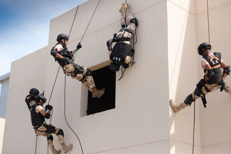 تمرين أمن الخليج العربي 12
