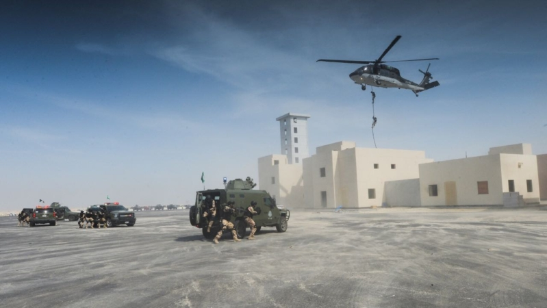 تمرين أمن الخليج العربي 34