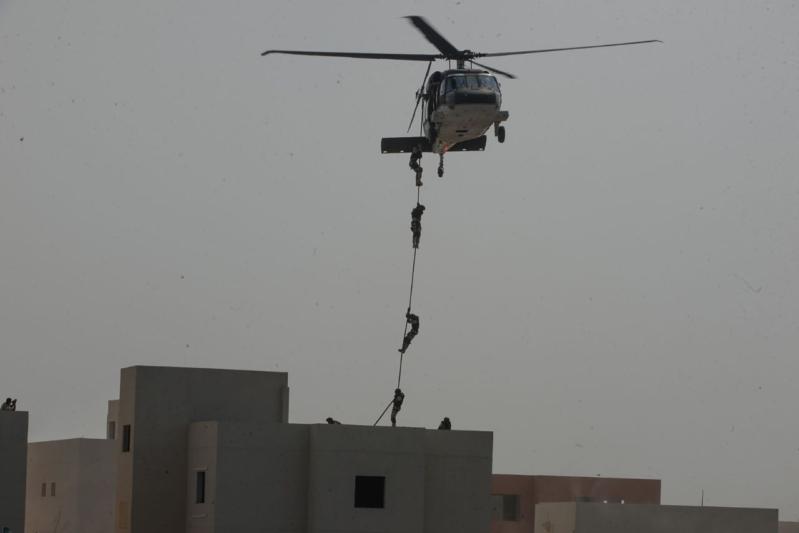 تمرين أمن الخليج العربي 4