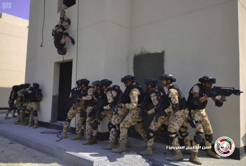 تمرين امن الخليج124