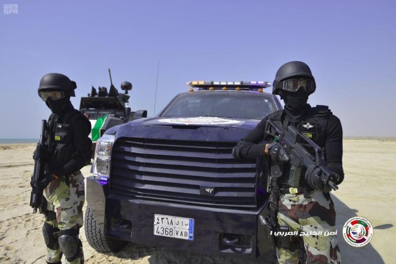 تمرين امن الخليج13