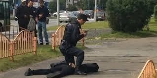 بالصور.. إصابة 7 أشخاص في حادثة طعن شرقي روسيا - المواطن