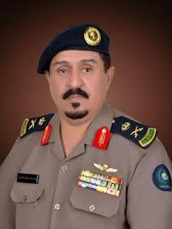 اللواء مستور الحارثي مدير الدفاع المدني بمنطقة تبوك