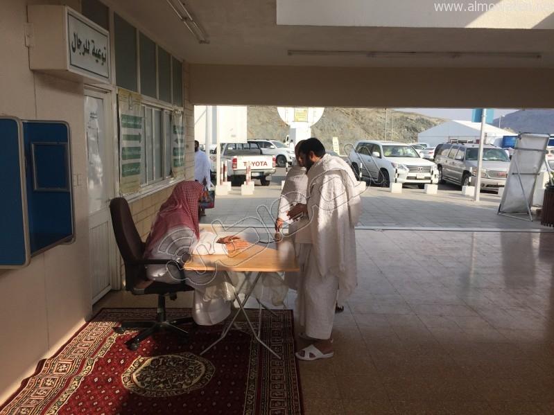 توافد الحجاج لميقات وادي محرم (4)