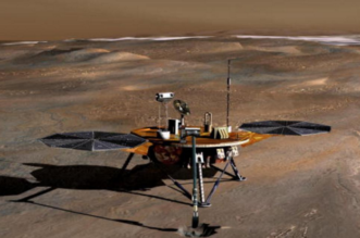 توجية مركبة الى المريخ