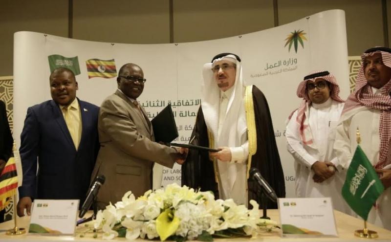 توقيع اتفاقية مع اوغندا