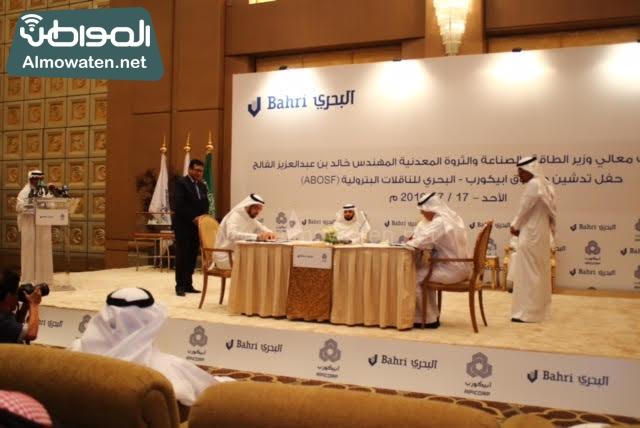 توقيع اتفاقية وزارة البترول9