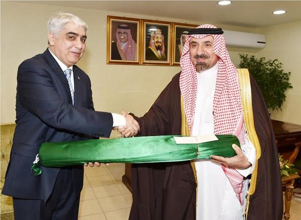 أمير نجران يستقبل القنصل العام لجمهورية باكستان الإسلامية