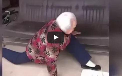 ثمانينة - سيدة - رياضة - عجوز
