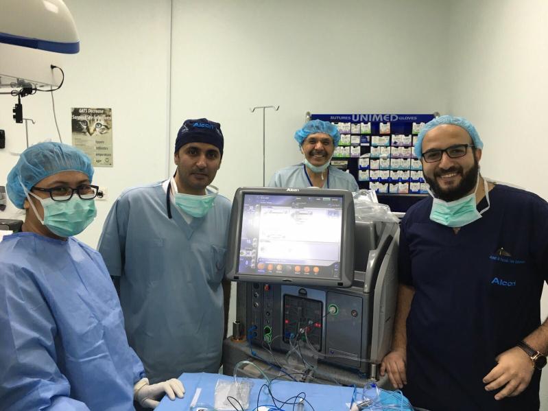 جاح عملية جراحة شبكية لـخمسينية بمدينة الملك سعود
