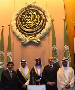 جامعة الدول العربية تختار يزيد الراجحي سفيرًا للعمل التطوعي (1)