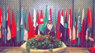 جامعة الدول العربية تختار يزيد الراجحي سفيرًا للعمل التطوعي (271954906) 