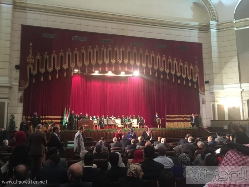 جامعة القاهرة تستعد لاستقبال الملك سلمان (1)
