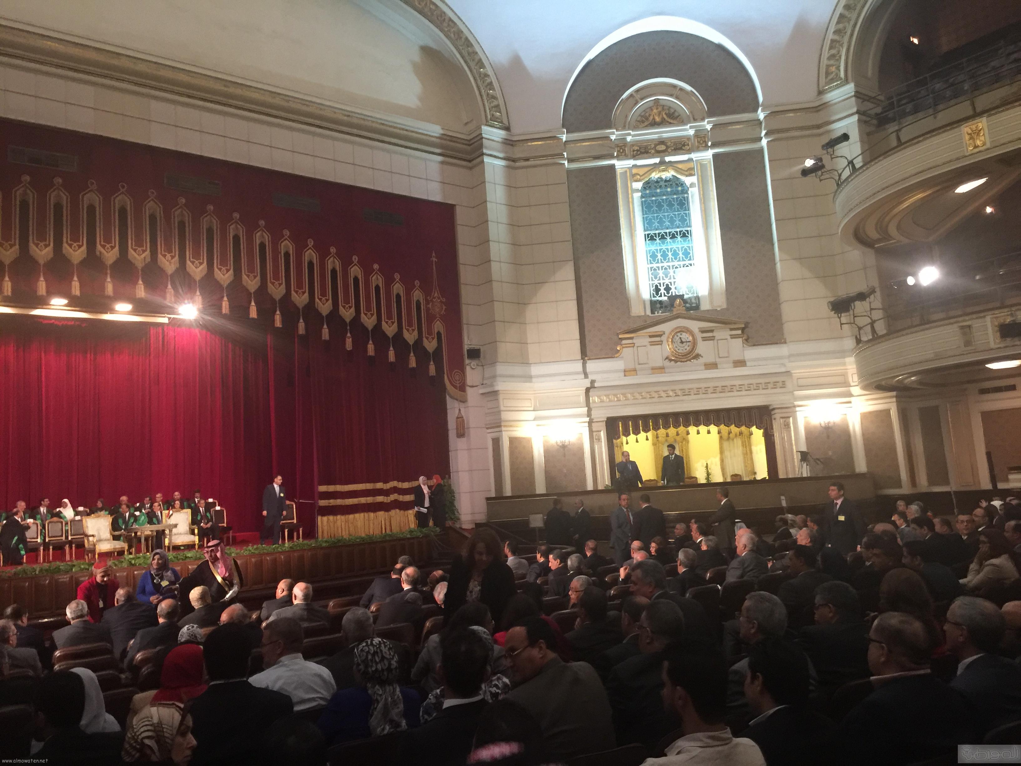 جامعة القاهرة تستعد لاستقبال الملك سلمان (2)