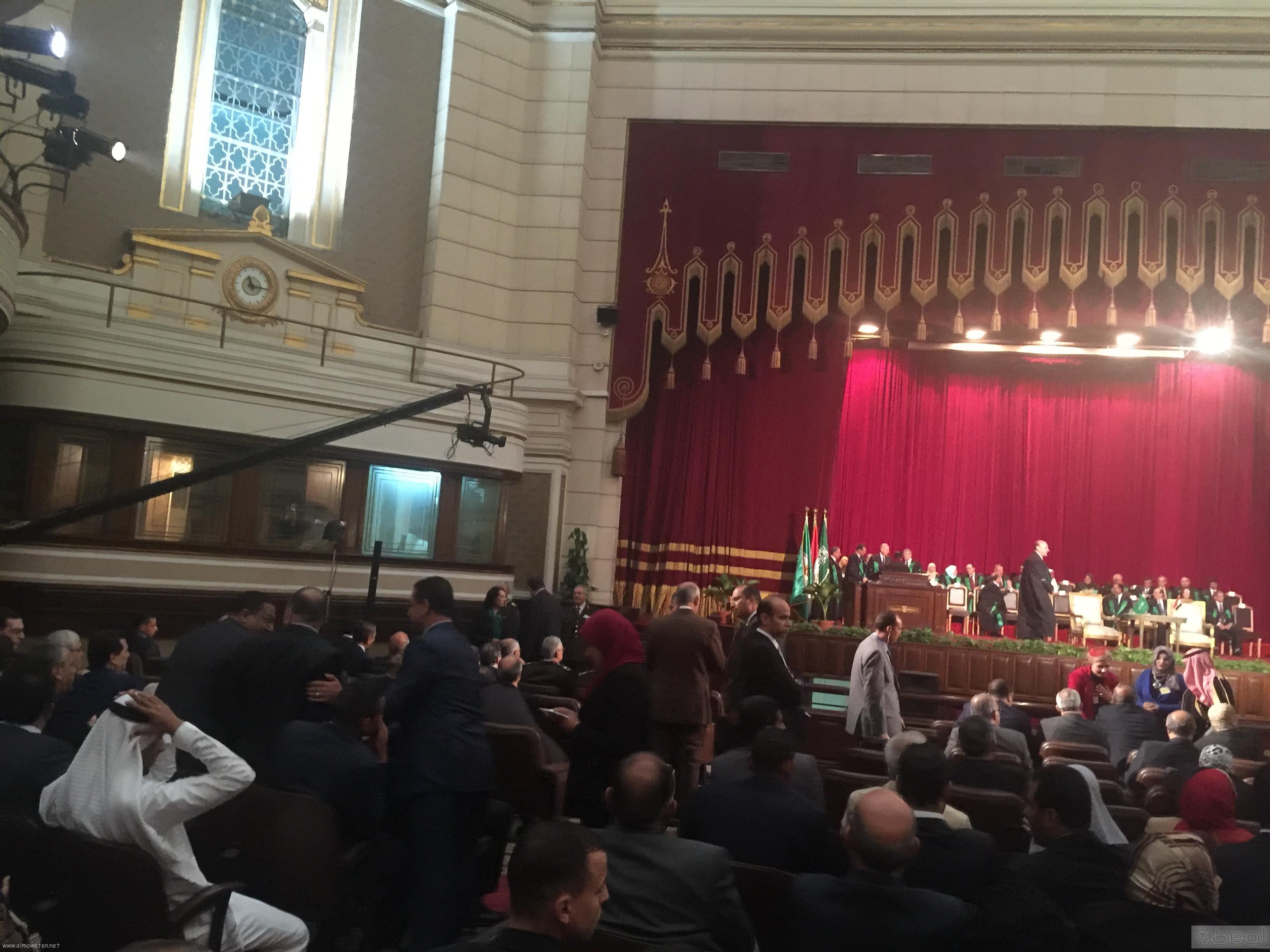جامعة القاهرة تستعد لاستقبال الملك سلمان (3)