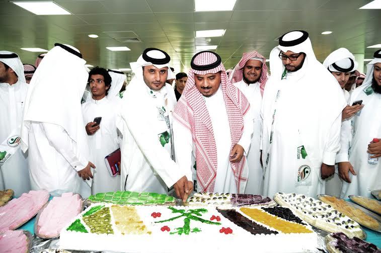 جامعة الملك خالد تحتفل بيوم الوطن 3