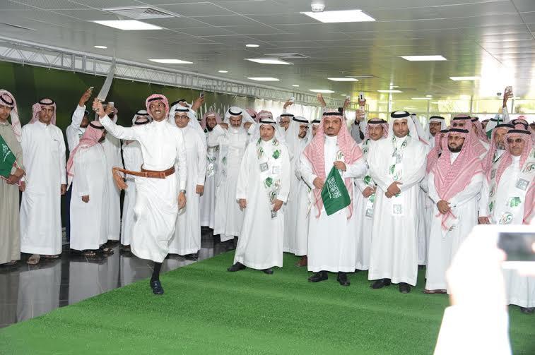 جامعة الملك خالد تحتفل بيوم الوطن 7