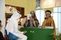 جامعة الملك خالد تختتم مشاركتها في #سوق_عكاظ